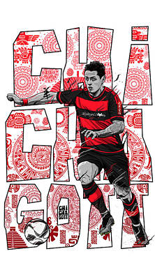Soccer Digital Art - Chichagott Leverkusen by Akyanyme