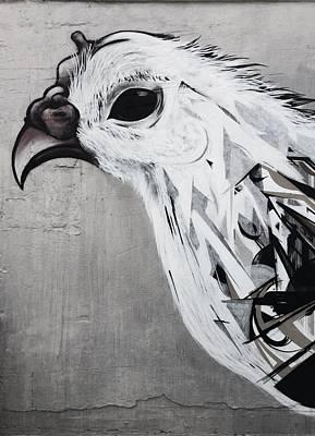 Chicken Print by JoAnn Lense