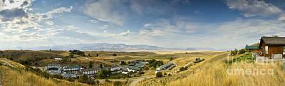 Chico Hot Springs Pray Montana Panoramic Print by Dustin K Ryan