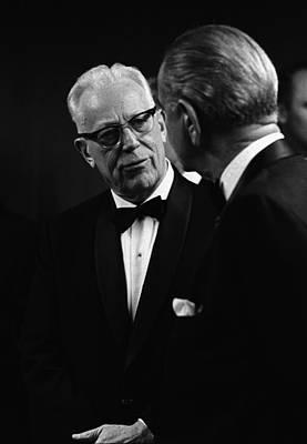 Lyndon Photograph - Chief Justice Earl Warren 1891-1974 by Everett