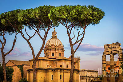 Italy Photograph - The Pines Of Rome by Inge Johnsson