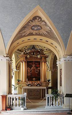 Madonna Digital Art - Chiesa Di San Giuseppe Interior Paciano by Dorothy Berry-Lound