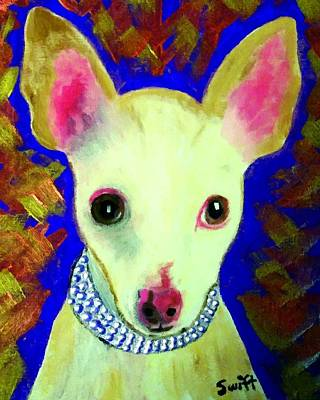 Dog Painting - Chihuahua by Char Swift