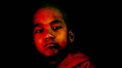 Child Monk Print by Martin James