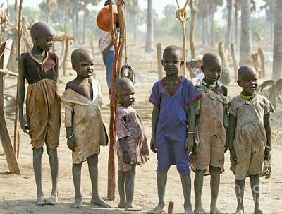 Dinka Photograph - Childhood by Irene Abdou