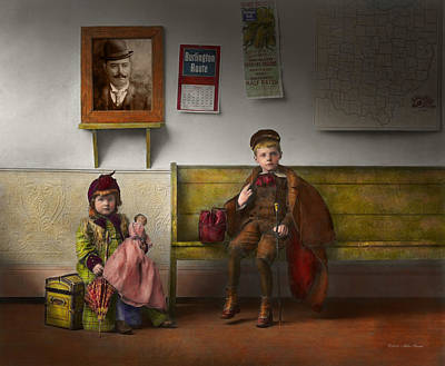 Room Photograph - Children - Life Is An Adventure 1893 by Mike Savad