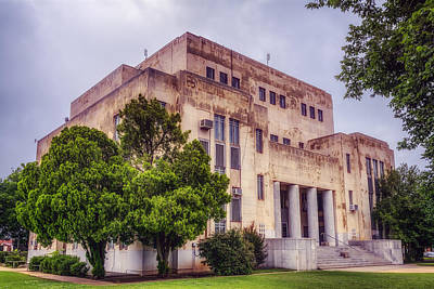 Courthouse Photograph - Childress County Courthouse by Joan Carroll