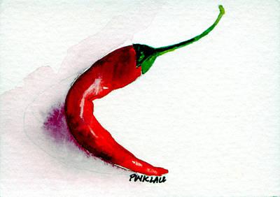 Chili Pepper Red 004 Original by Peter Lau