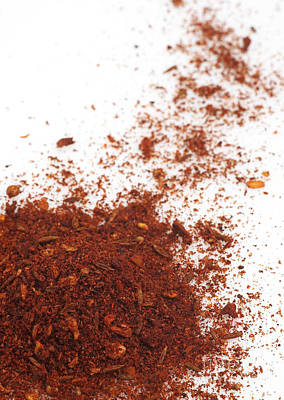 Chili Powder Print by Gerard Lacz