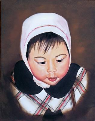 Portraits Painting - China Doll by Joni McPherson