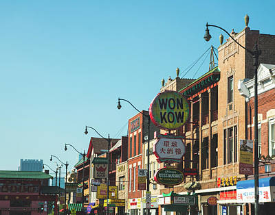 Photograph - China Town Chicago by Sonja Quintero
