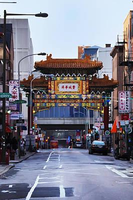 Chinatown - Philadelphia Print by Bill Cannon