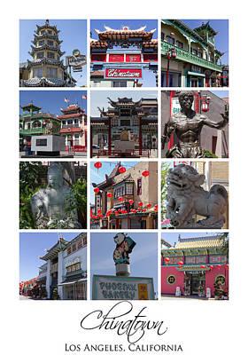 Paper Lantern Photograph - Chinatown Los Angeles by Teresa Mucha