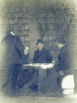 Chinese Chess Players Print by Loriental Photography