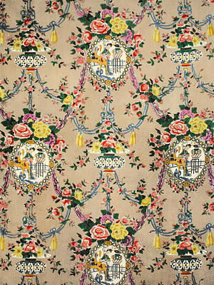 Chinese Chippendale Medallion Print by Harry Wearne