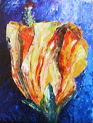 Painting - Chinese Hibiscus by Priti Lathia