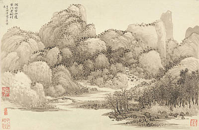 Landscape Painting - Chinese Landscapes by Eastern Accents
