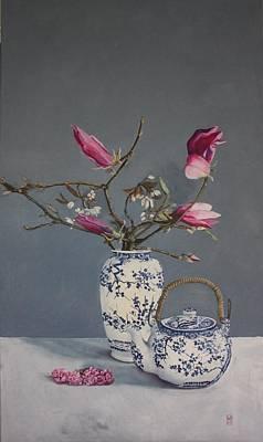 Chinoiserie Magnolia's Original by Leena Blom-Hilden