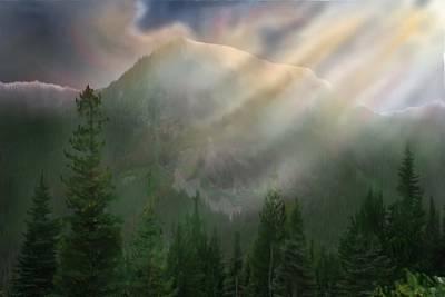 Chinook Vista Print by Robert Bewick