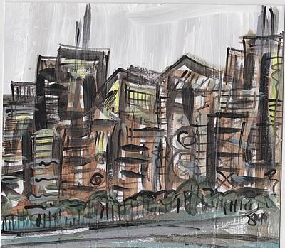 Chicago Skyline Mixed Media - Chitown 4.0 by Julie Holloway