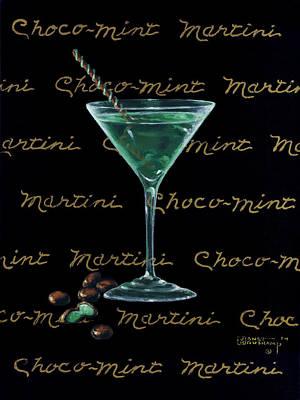 Choco-mint Martini Original by Janet  Kruskamp