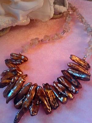 Jablonex Beads Jewelry - Choco -stix by Melanie A Leon