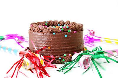 Chocolate Cake Print by Darren Fisher
