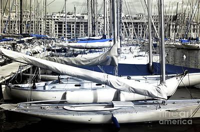 Choices In The Port Print by John Rizzuto