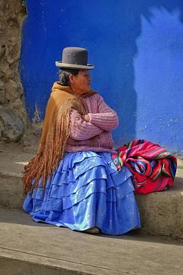 Woman Photograph - Cholita by Skip Hunt