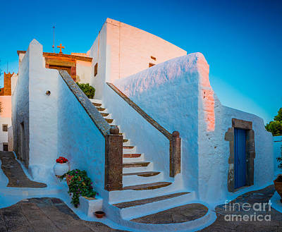 Staircase Photograph - Chora Chapel by Inge Johnsson