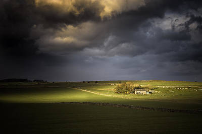 Farmhouse Photograph - Chosen II by Chris Fletcher