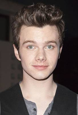 At Arrivals Photograph - Chris Colfer At Arrivals For American by Everett