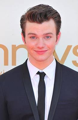 At Arrivals Photograph - Chris Colfer At Arrivals For The 63rd by Everett