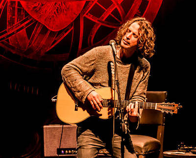 Soundgarden Photograph - Chris Cornell The Music Center At Strathmore Md October 2015 4 by Persephone Productions