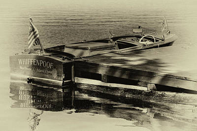 Cri Photograph - Vintage Chris Craft - 1958 by David Patterson