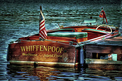 Cri Photograph - Chris Craft Continental - 1958 by David Patterson