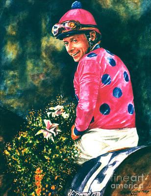 Chris Mccarron Up Print by Thomas Allen Pauly