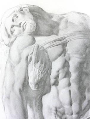 Christ 1a Print by Valeriy Mavlo