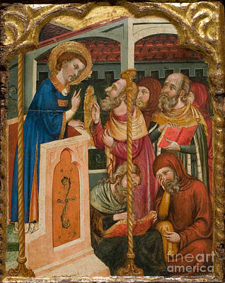Ap Painting - Christ Blessing by Celestial Images