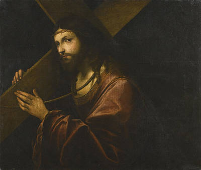 Painting - Christ Carrying The Cross by Giovanni Cariani