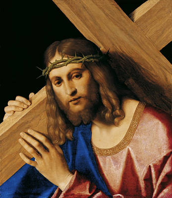 Vincenzo Catena Painting - Christ Carrying The Cross by Vincenzo Catena