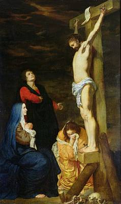 Mary Magdalene Painting - Christ On The Cross by Gerard de Lairesse