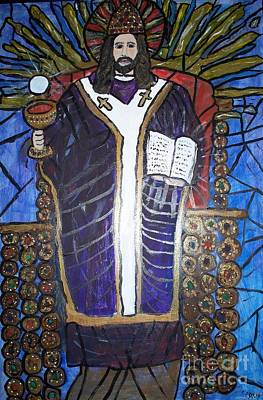 Chalice Mixed Media - Christ The King by Seaux-N-Seau Soileau
