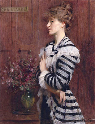 Painting - Christabel Cockerell. Lady Frampton by Arthur Hacker