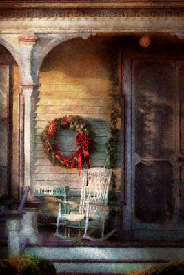 Decorated For Christmas Photograph - Christmas - Christmas Is Right Around The Corner by Mike Savad