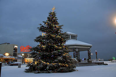 Rehoboth Photograph - Christmas Bandshell At Rehoboth Beach by See Me Beautiful Photography