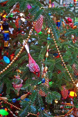 Christmas Bling #5 Print by Rich Walter