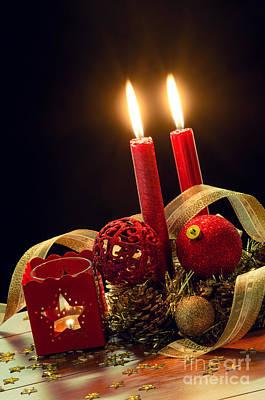 Christmas Photograph - Christmas Decorations by Carlos Caetano