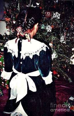 Christmas Dress Print by Sarah Loft