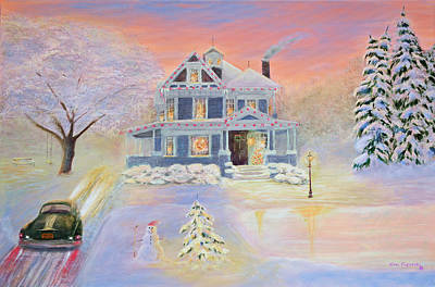 Christmas Eve Print by Ken Figurski